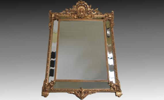 Gilt Cushion Mirror