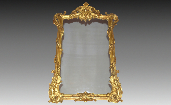 Victorian Carved Giltwood Mirror