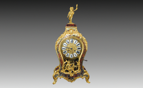 Boulle Mantel Clock