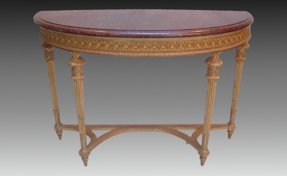 Giltwood & Gesso Pier Table