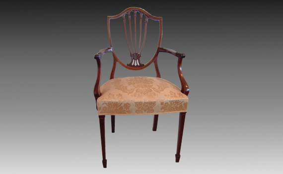 Eight Edwardian Dining Chairs