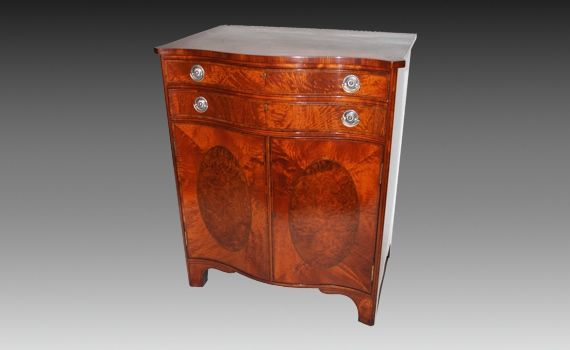 Morris & Co Satinwood Cabinet