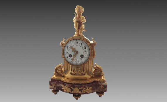Louis XVI style French Clock