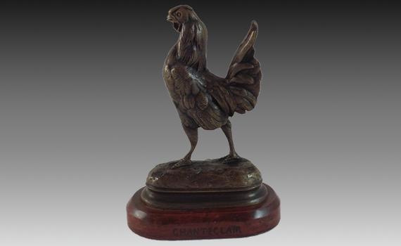 Dubucand Bronze 'Chanteclair'