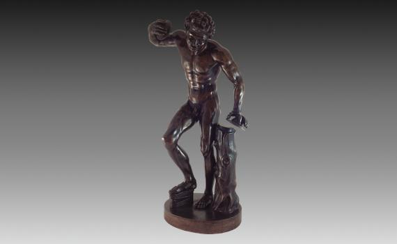 'The Uffizi Faun' Bronze Dancing Faun