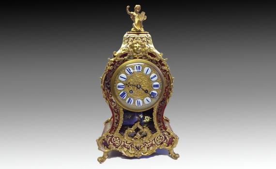 Napoleon III Boulle Clock