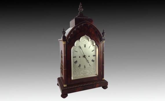 Grant Fleet Street Rosewood Bracket Clock