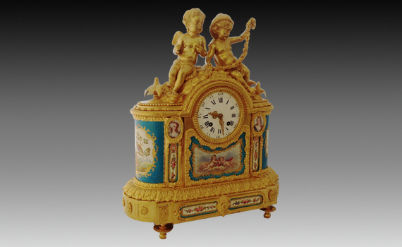 Charles Frodsham Mantel Clock