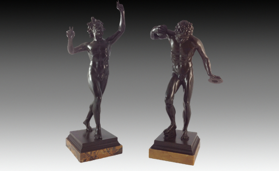 After The Antique Dancing Faun Bronzes