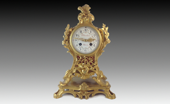 Antique Louis XV Style Clock