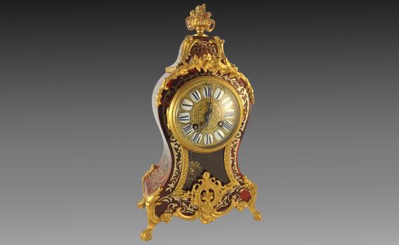 Napoleon III Boulle Mantel clock