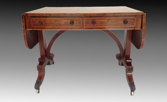 George IV Kingwood Sofa Table