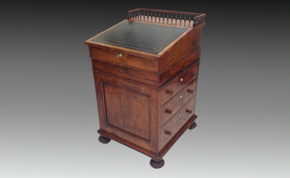 Rosewood Davenport attributed to Gillows