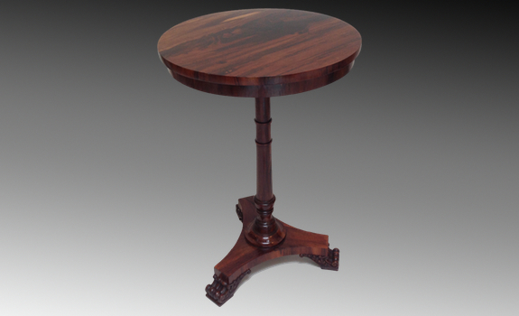 A George IV Albuera Circular Side Table