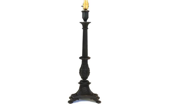 Antique Regency William Bullock Bronze Lamp