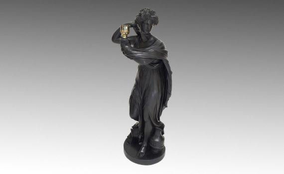 Antique George III Plaster Figure by Humphrey Hopper