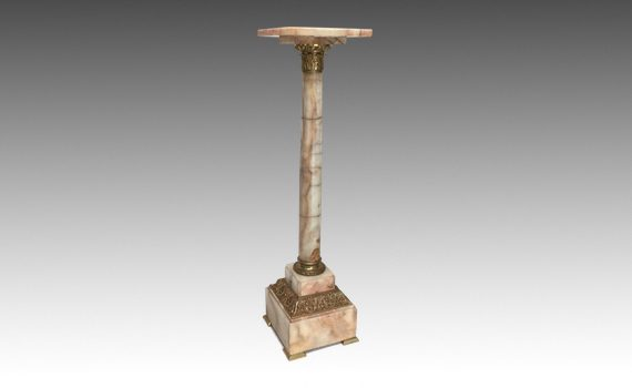 Antique Late 19th century French Onyx Column