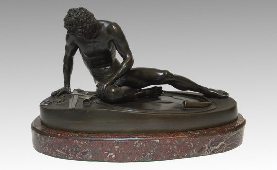 Antique Grand Tour Bronze 'Dying Gaul' after the Antique