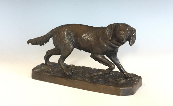 Antique Bronze Retriever After PJ Mȇne retailed by JJ Mechi