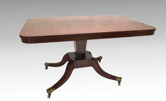 Antique George III Mahogany Tilt-Top Breakfast Centre Table