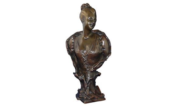 Emile Laporte Bronze Bust