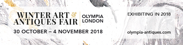 The Winter Art & Antiques Fair Olympia 30 October - 4 November 2018