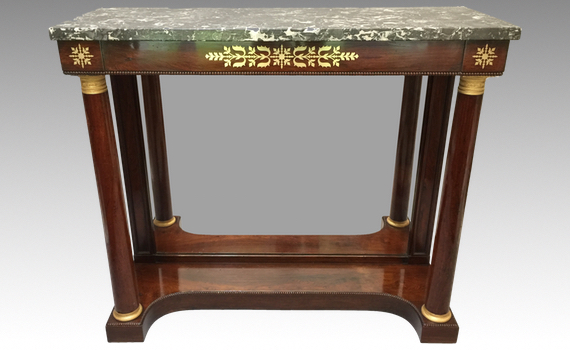 Antique George IV Rosewood Pier Table