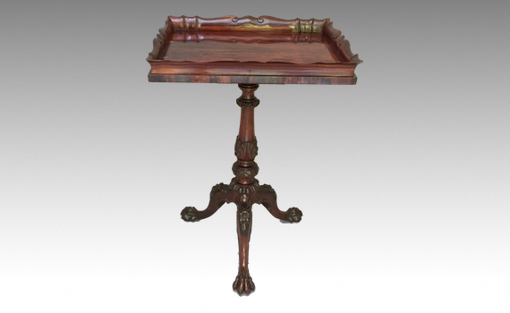 Antique Gillows George IV Albuerra Wood Table