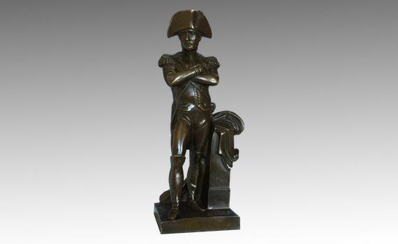 Antique 19th Century French Bronze of Napoleon Bonaparte