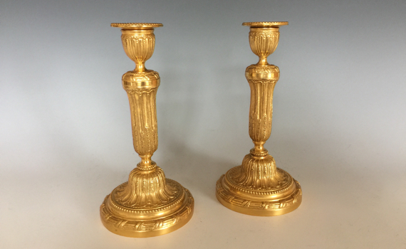 Antique French Louis XVI Style 19th century Candlesticks