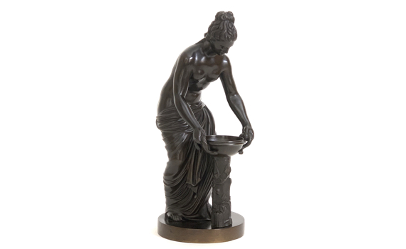 Antique French Bronze of Danaides