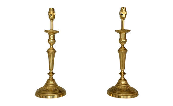 Pair of Louis XVI Design Table Lamps