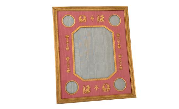 Antique Boin Taburet Ormolu Photograph Frame
