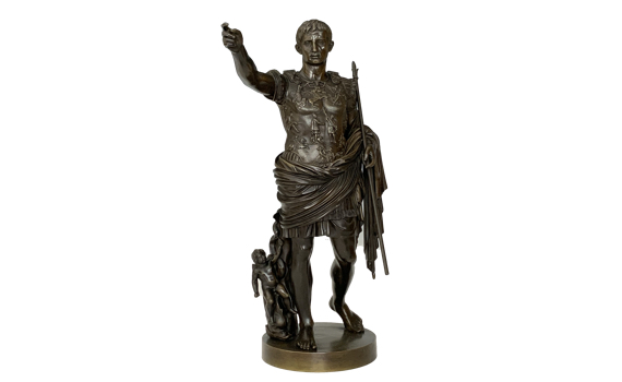 Augustus of Prima Porta Grand Tour Bronze
