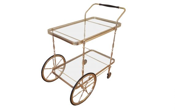 Fine Mid Century French Drinks Trolley